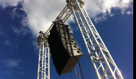 sonorisation line array
